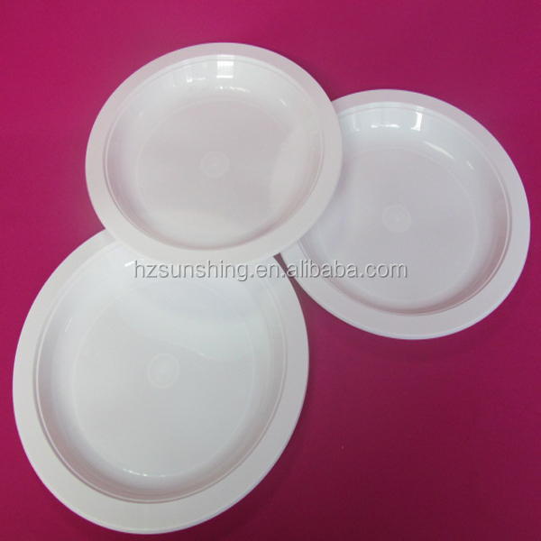 hot selling plastic dishes and plates