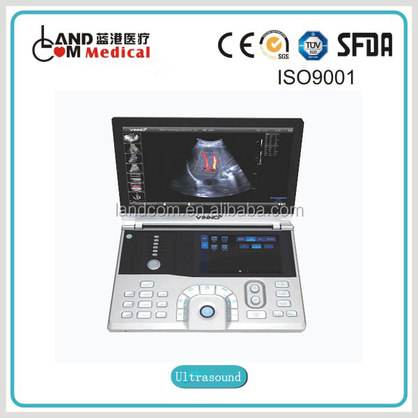 Portable Color Doppler Ultrasound System with CE