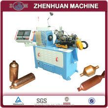 Copper pipe end closing machine for air dryer for fridge