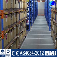 China sliding pallet racks
