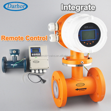 DH1000 factory direct durable economical magentic dirty water flow meter