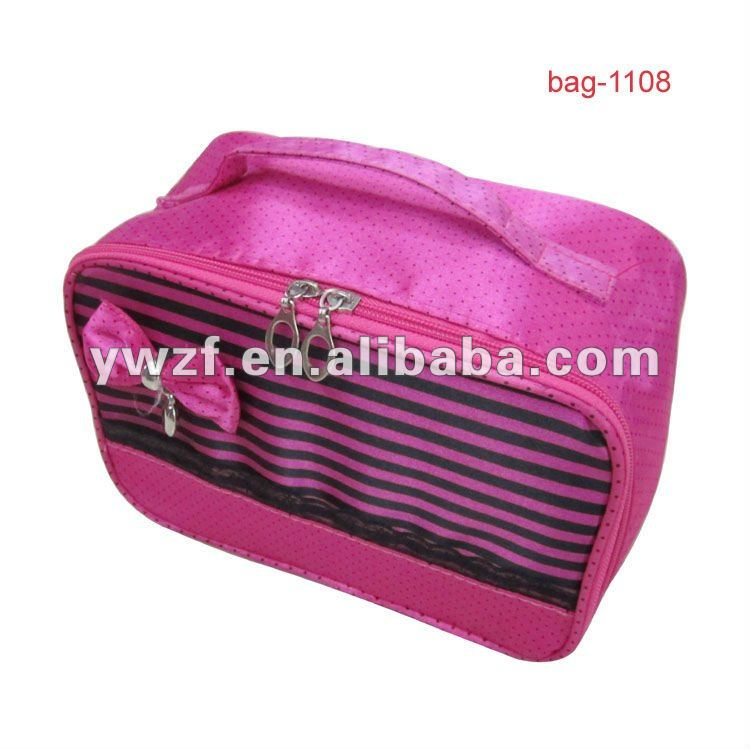 cute cheap zipper small cosmetic toilet bags
