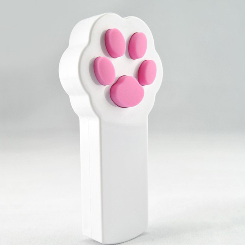 New Cat Claw <strong>Beam</strong> Interactive Laser Pointer Pet Cat Dog Amusement Toy