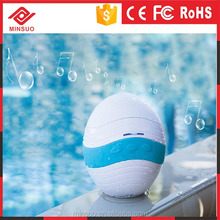 SP-052 Ball Shape Waterproof Bluetooth Shower Speaker with blue light