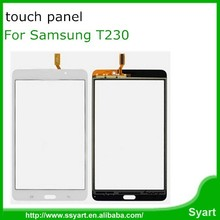 black white touch screen digitizer panel glass replacement repair part for samsung galaxy tab 4.7 T230