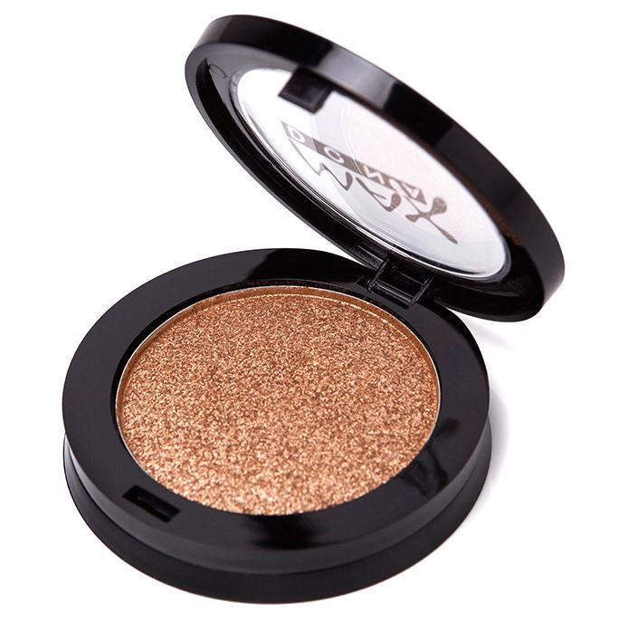 Professional Makeup Lots Shining Glitter Eyes Shadow Pigments Color Palette Single Shimmer Glitter Metallic Eyeshadow Palette