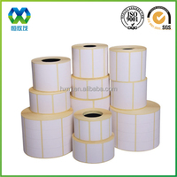 Cheaper Thermal paper blank label/ barcode label/printing label sticker sheet/roll