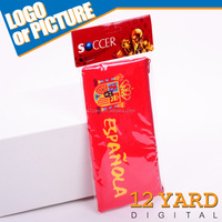 Hot sales ! custom logo Spanish football Pencil Pouch Student pencil bag/ pen case