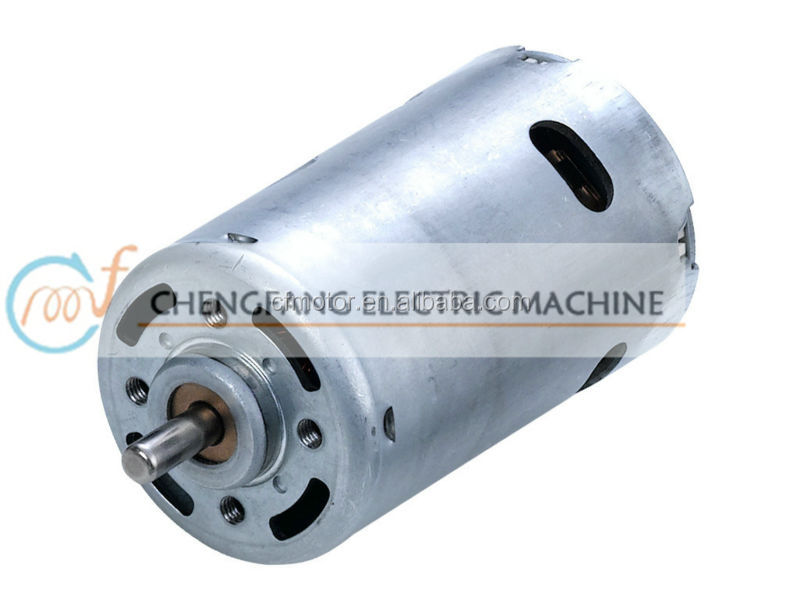 12v dc engine motor ce trolling RS-997H for low rpm electirc generator