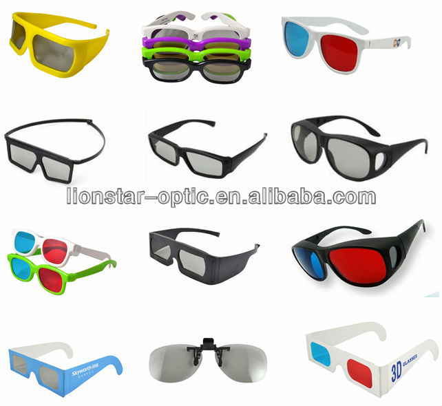 2020 New Wholesale Paper Anaglphy Glasses Red Cyan 3D Glasses Books Anaglyph 3D Glasses