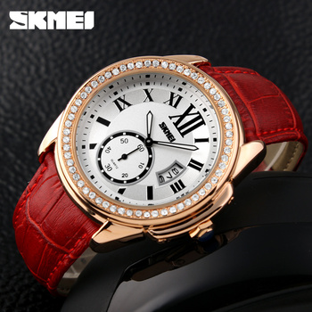 new vogue rose god wrist watch supplier fashion with crystal stone