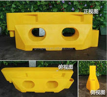 rotational two holes Polyethylene Traffic barrier