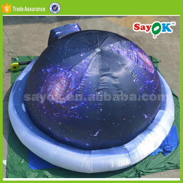 giant portable planetarium inflatable dome tent,party tent
