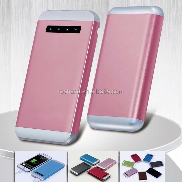 2015 New 15000mAh Power Bank Li Polymer Battery 2A output fast charging mobile charger for android tablet