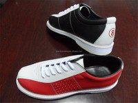 full leather men's bowling shoe all kind of style