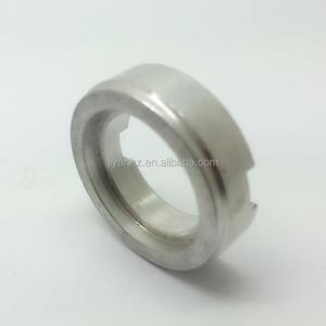 Non standard cnc processing natural finish spare parts aluminum ring 7075