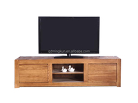 modern light color TV cabinet