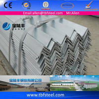 China High Quality Hot Dipped Galvanized Angle Iron