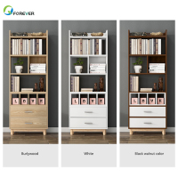 OEM Factory PriceWooden Modern For Office Furniture Bookshelf Wooden Bookcase