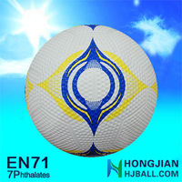 2015 rubber 5# soccer balls soccer ball display