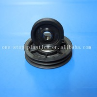 Durable colered hight quality PU injection moulding roller wheel