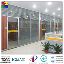 High quality cheap price adjustable aluminium louver shutter with the double glass