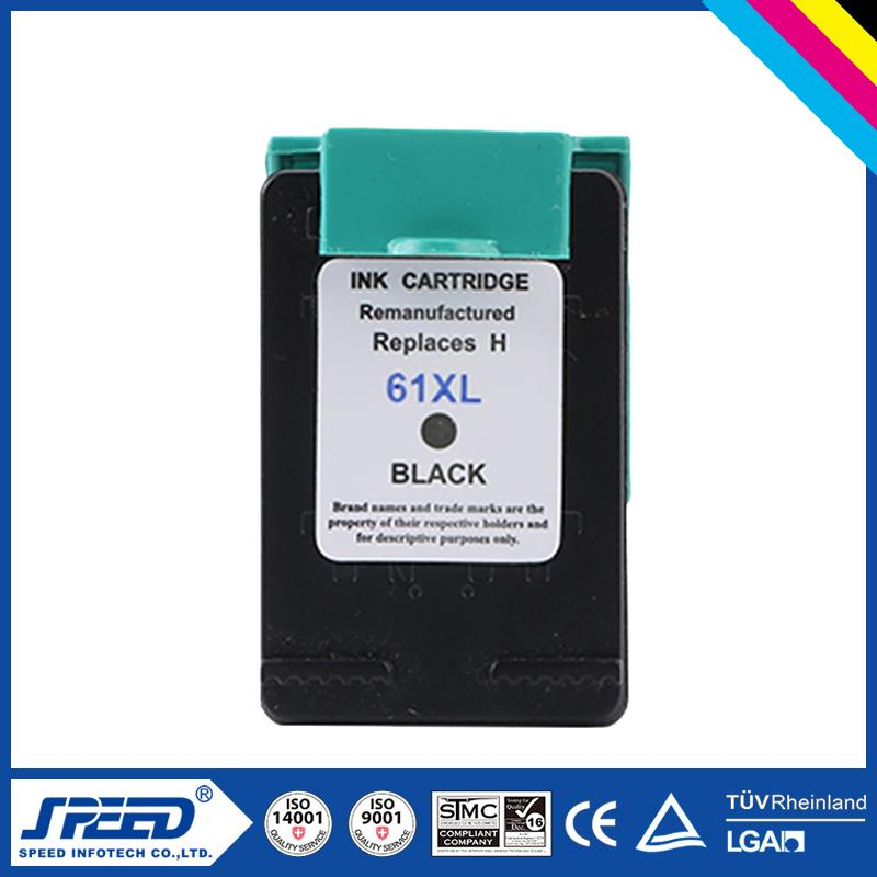 New version compatible chip reset ink cartridge for hp 61 ink with CE Certifiecate