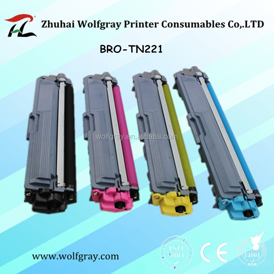 Compatible color toner cartridge for Brother TN221/TN241/TN281/TN285