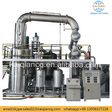 Rubber Oil Refining Distillation Plant Continuously