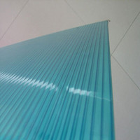 uv coated polycarbonate x triple wall sheet/double layer sheet