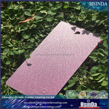 Cheap pink Wrinkle finish rough texture paint powder coating