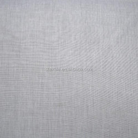100% polyester grey color blackout curtain fabric for round window 1101-4
