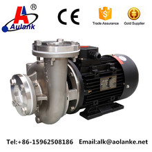 stainless steel hot water pump for chiller machinery