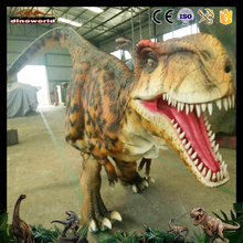 DW-1018 Professional custom adult hidden legs walking silicon rubber dinosaur costume