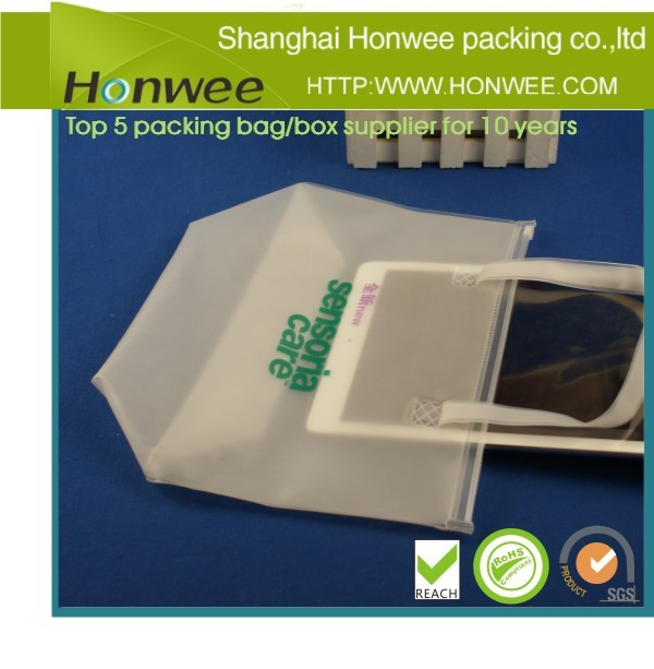 china wholesale waterproof pvc tote bag for iPad
