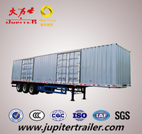 TRI AXLE VAN/BOX TRAILER FOR BULK CARGO TRANSPORTATION