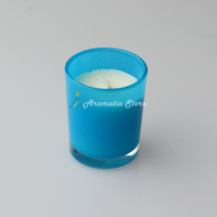 Painting Glass Jar Scented Candle
