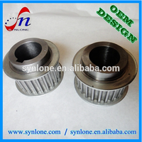 Cheap price machinery spare parts, timing belt pulley
