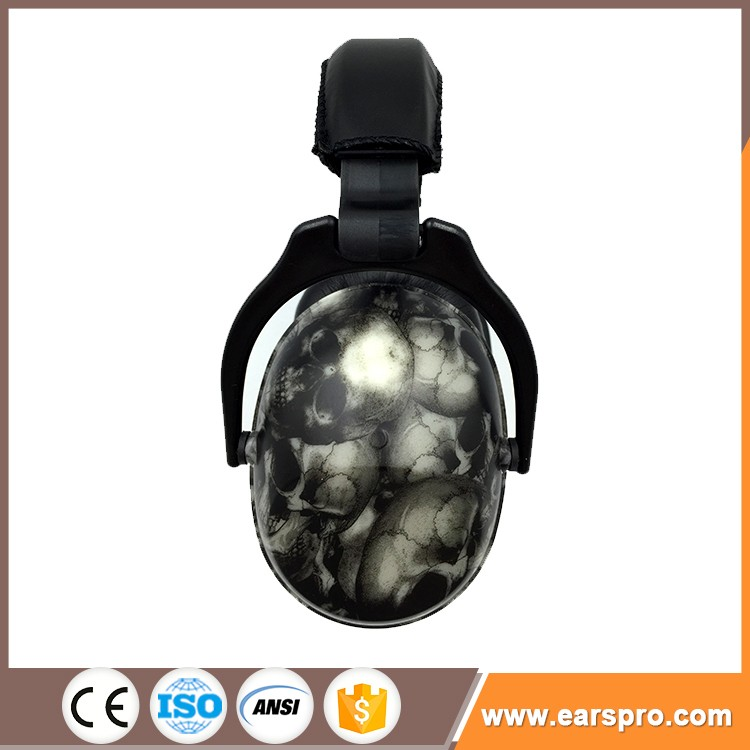 2017 new type of ear muffs ABS shell sound proof safety helmet ear muff with ce