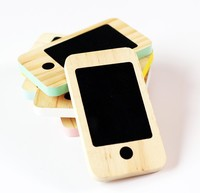 Wooden Baby Phone Toys Children's Room Decor & Craft