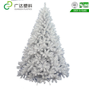Hotel decoration snow white christmas tree
