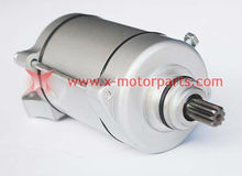 Loncin 9teeth starter motor for 250CC engine,ATV engine parts,ATV Quad part