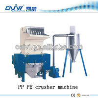Plastic stretch film crusher