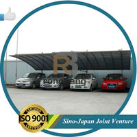 5.5m *6m *3m,1set,aluminium carports with polycarbonate sheet roof,metal frame carport