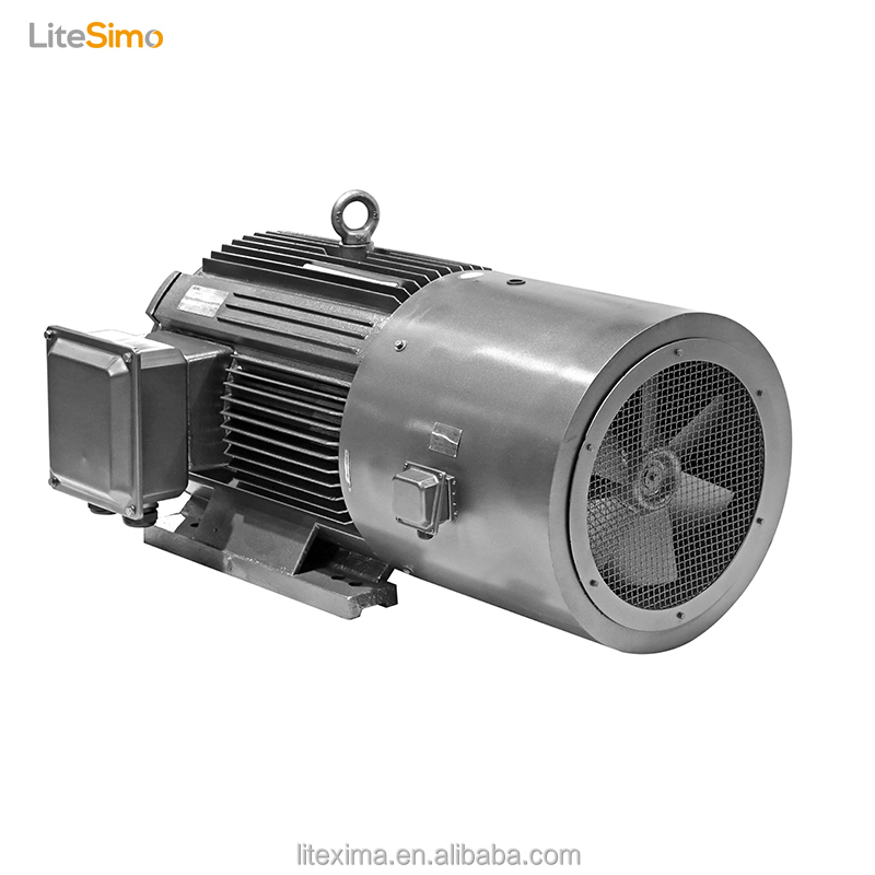 high voltage electric vehicle three phase ac induction motor working principle