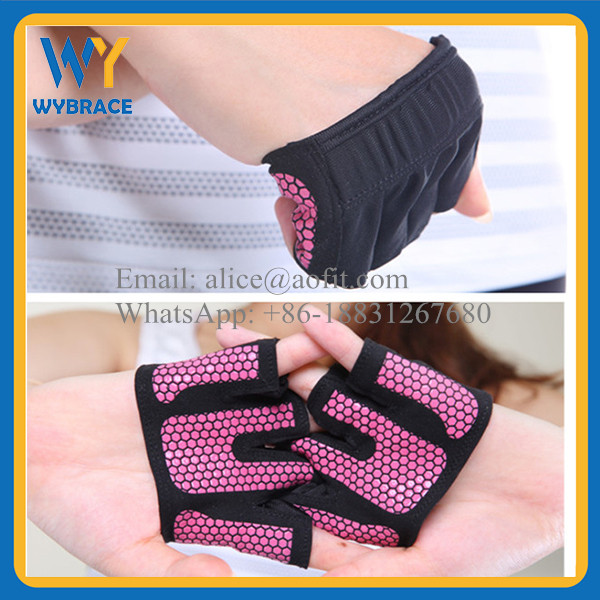 WUYU Custom Brand GYM Trainning Gloves Sports Weight Lifting Gloves for Sale