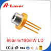 660nm 180mW High Power Laser Diode