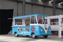 Lowest price electric mobile food carts / ice cream truck for sale