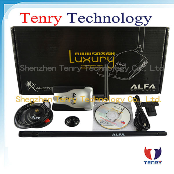Alfa LUXURY Wireless Adapter with 2dbi &8dbi antena