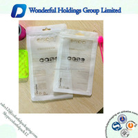 2016 Resealable plastic ziplock iphone 6 packaging with handle